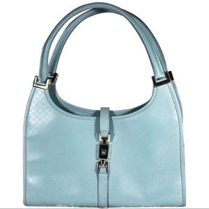 GUCCI Micro Guccissima Pastel Leather Jackie Bag